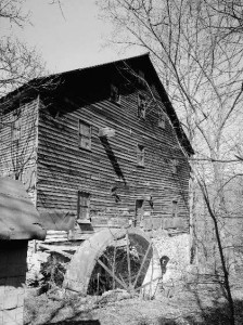 Typical Old Water Powered Mill